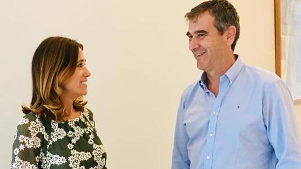 Rosa Romero y Antonio Román