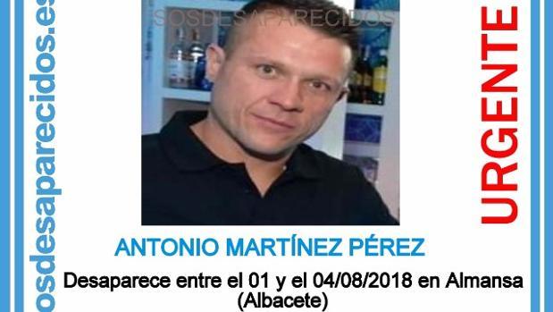 La Guardia Civil ha encontrado el cadáver de Antonio Martínez en una vivienda de Almansa