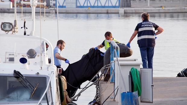 Durante la jornada del 18 de septiembre, otro inmigrante apareció muerto en las costas de Motril