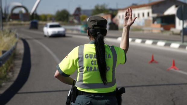 Una guardia civil en una imagen de archivo