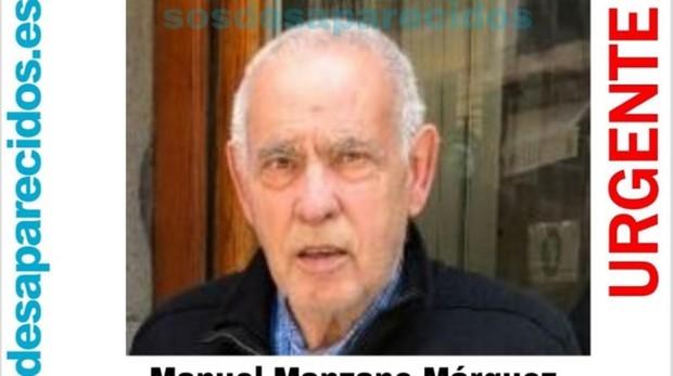 Manuel Manzano desapareció en el distrito de Tetuán tras salir a dar un paseo