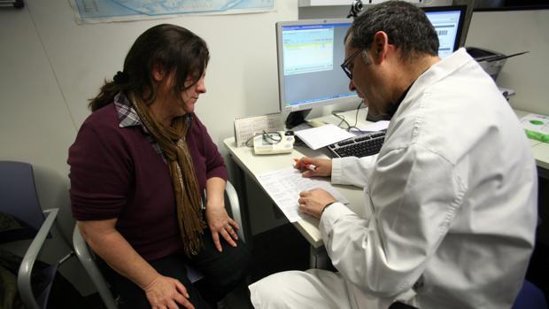 Imagewn de archivo de una consulta médica