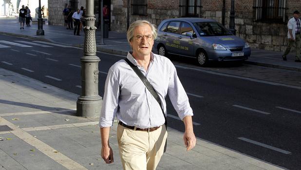 Jose Antonio García de Coca a su llegada al juicio por el caso de la modificación del Plan General de Ordenación Urbana (PGOU) de Valladolid, en una imagen de archivo