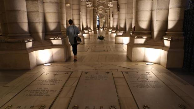 Cripta de la Almudena, un mausoleo de gran abolengo
