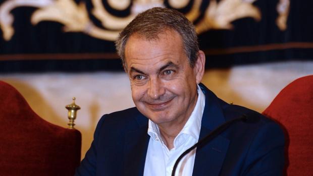 El expresidente del Gobierno José Luis Rodríguez Zapatero la pasad semana en Valldolid