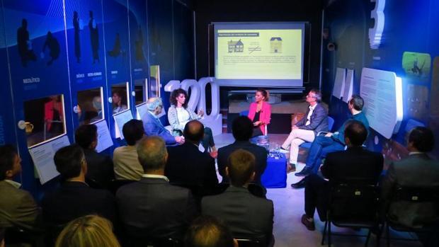 Debate en el foro de Aguas de Alicante, este martes en el Museo del Agua