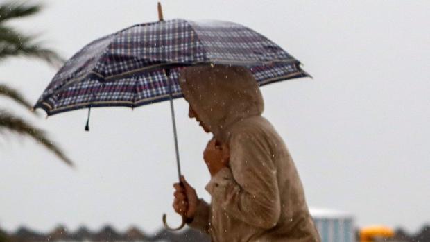 Persistentes e intensas lluvias por la gota fría