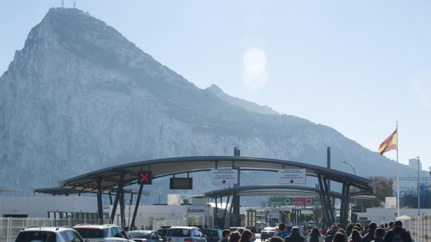 El peñón de Gibraltar fotografiado en 2017
