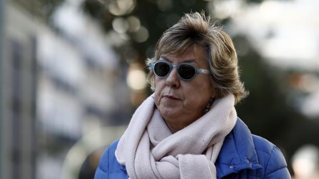 Pilar Barreiro, senadora del PP, sale tras declarar por la trama Púnica en el Tribunal Supremo, en enero