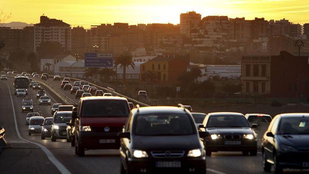 Iamgen de archivo de la A7 en Valencia