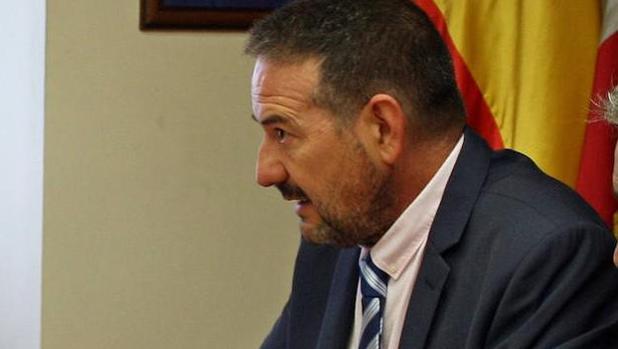 El alcalde de Aguilafuente, Jesús Ballesteros