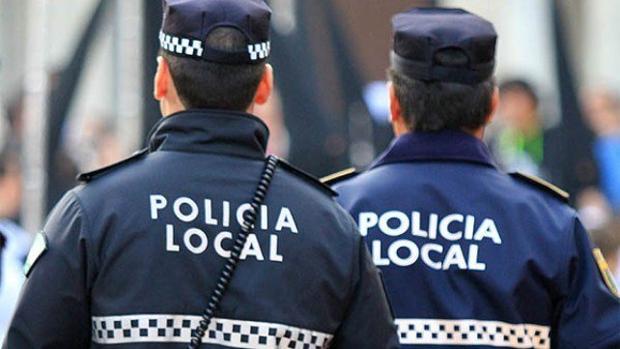 Agentes de la Policía Local de Guadalajara