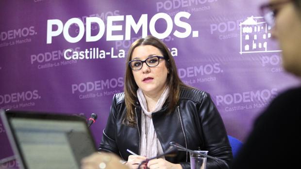 María Díaz es la secretaria de Organización de Podemos en Castilla-La Mancha