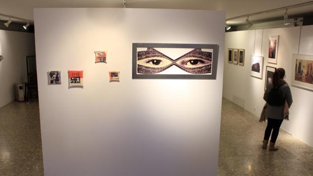 Exposición «Knock Out» en la sala de exposiciones de la Escuela de Arte de Toledo