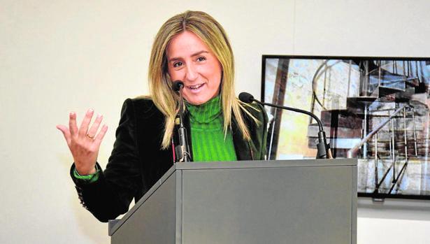 La alcaldesa Tolón en una imagen de archivo