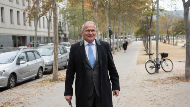 Josep Bou, el día que anunció que se presentaría como candidato para el PP