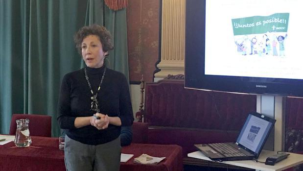La científica Sandra Hervás