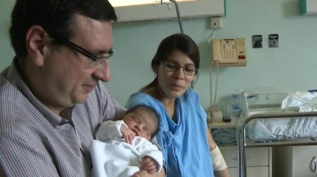 Carolina María, el primer bebé nacido en España en 2019