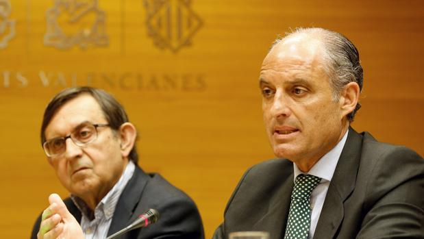 Imagen del expresidente de la Generalitat Francisco Camps