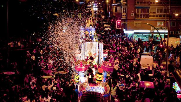 Cabalgata de Reyes Magos de Latina