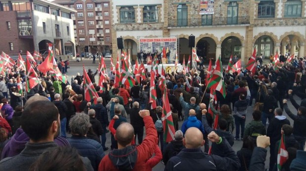 La izquierda abertzale homenajea a Argala en Arrigorriaga (Vizcaya)