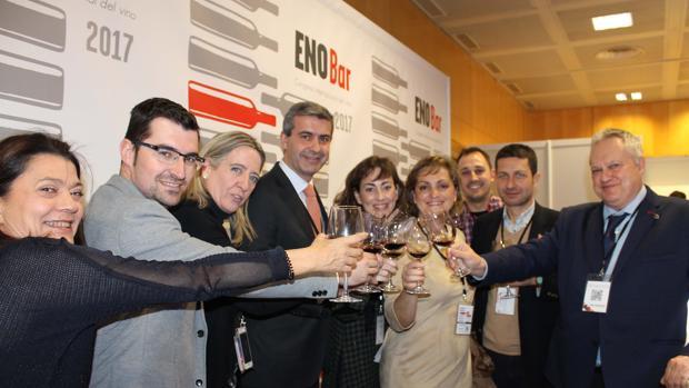 El presidente de la Diputación, en Enofusión