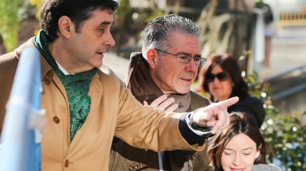 Francisco Granados, a su llegada a la Audiencia Provincial