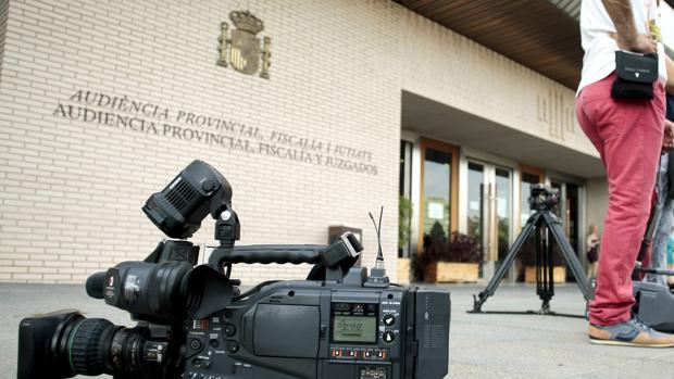Imagen de la Audiencia de Castellón, donde se juzgarán los hechos