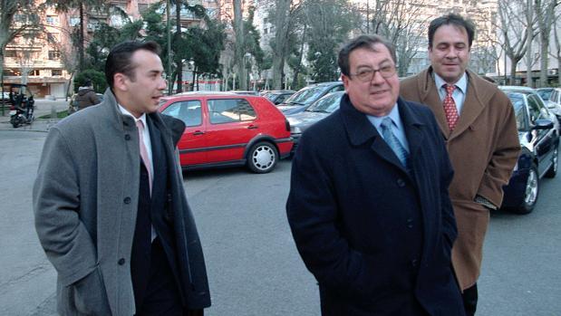 Ignacio Morchín (centro), en una imagen de archivo