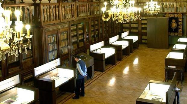 Sala Borbón -Lorenzana donde está expuesta la muestra