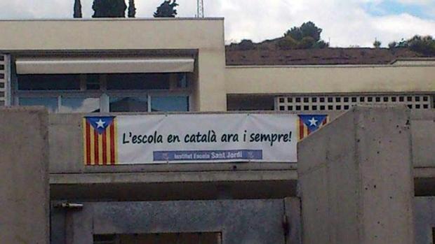 Un colegio que exige que el catalán sea lengua vehicular