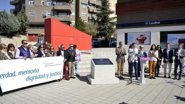 En Toledo, el acto se ha celebrado en Bueavista, organizado por la Asociación de Víctimas del Terrorismo