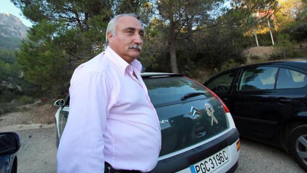 El alcalde de Confrides, José Buades