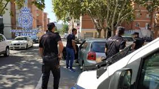 Imagen de archivo de una actuación de la Policía Nacional en Albacete