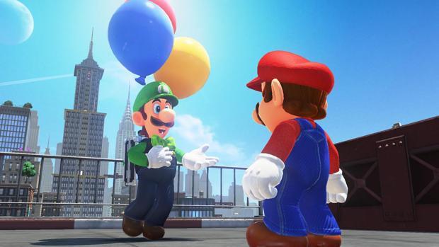 Fotograma del juego Super Mario Oddysey