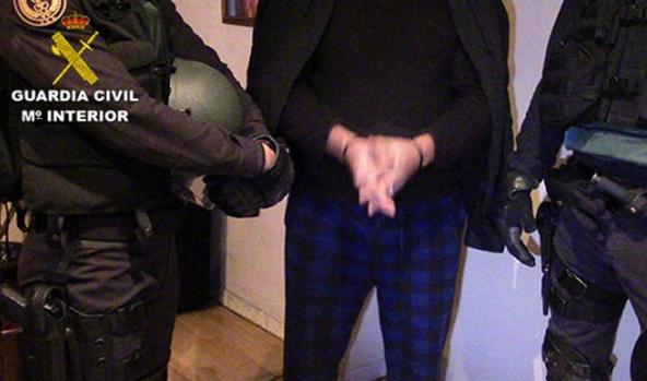 Uno de los detenidos en la operación Macuto