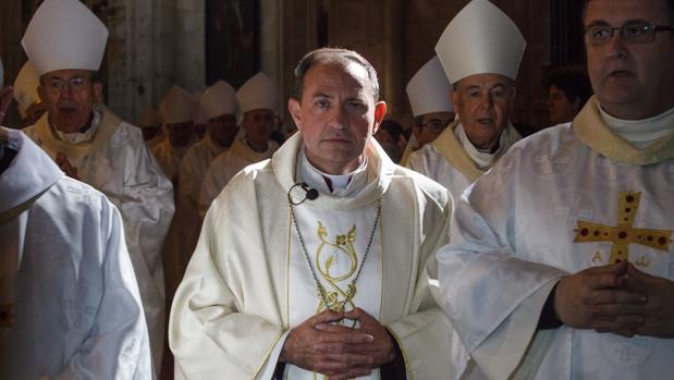 El obispo de Osma-Soria, Abilio Martínez Varea
