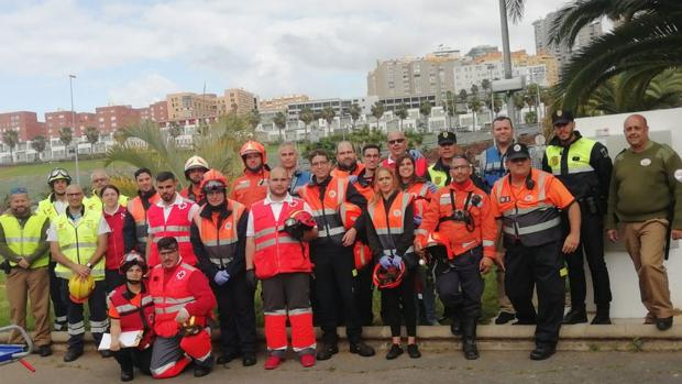 Agentes de FSE, Cruz Roja, bomberos, Protección Civil y sanitarios se refuerzan por Senana Santa