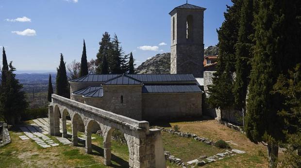 Exterior del convento-monasterio de San Julián y San Antonio