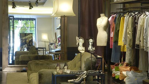 Interior de una tienda de Bimba y Lola