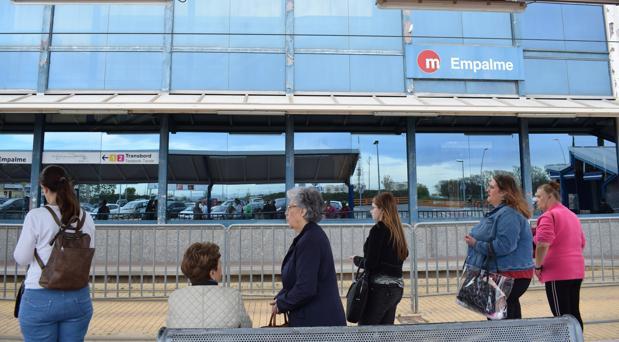 Imagen de una de las estaciones más concurridas del Metro de Valencia