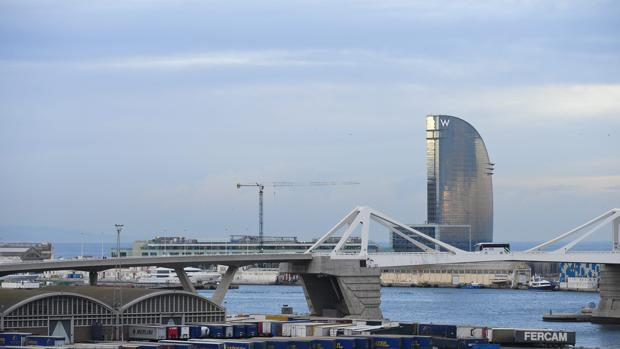 El Puerto de Barcelona, en una imagen de archivo