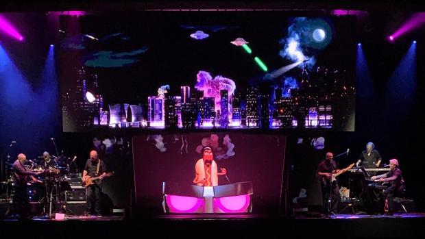 Imagen del espectáculo en su estreno en Holanda