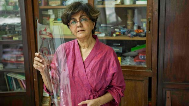 Nalini Malani, en una imagen de archivo