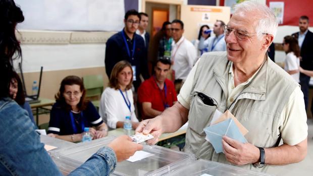 Josep Borrell, cabeza de lista del PSOE para las elecciones europeas de 2019