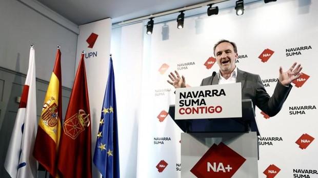 Javier Esparza, candidato de Navarra Suma a la presidencia foral