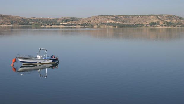 Imagen de archivo del embalse de Mequinenza, también conocido como Mar de Aragón