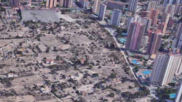 Plan «Ensanche Levante» de Benidorm