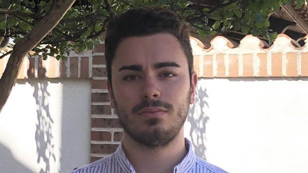 Jaime Gutiérrez Gil, quien el próximo 15 de junio se convertirá en el alcalde más joven de España