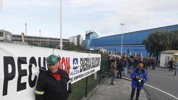 Insalaciones de Alcoa en La Coruña